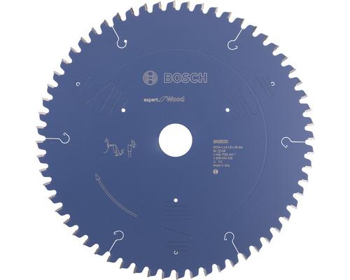 Pílový kotúč Expert drevo 254x30 mm, Z 60