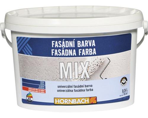 MIX fasádna farba Hornbach 2,5 l