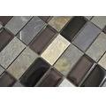 Mozaika sivá čierna béžová 31x32,5 cm
