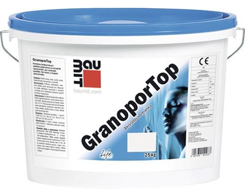 Tenkovrstvová akrylátová omietka Baumit GranoporTop 1,5 mm škrabaná štruktúra 25 kg (NA OBJEDNÁVKU)