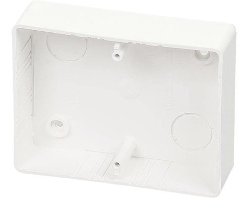 Inštalačná krabica lištová 2 ZSK 81x105x28 mm