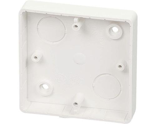 Inštalačná krabica lištová KL 80 N 81x81x16 mm