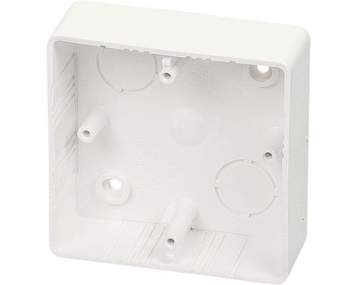 Inštalačná krabica lištová 81x81x28 mm