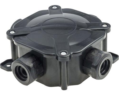Rozvodná krabica čierna PH PG16 IP67 A.0035C 5x4 mm2