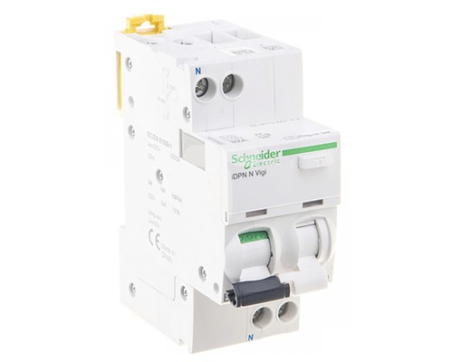 Prúdový chránič Schneider Electric 2P16A/30mA, iDPN, 6KA