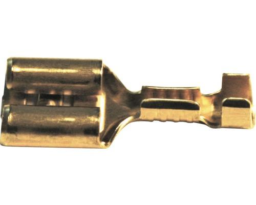 Mosadzná násuvná spojka 7102-03, 2,5 mm