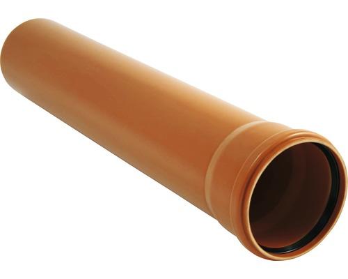 Kanalizačná rúra KG Ø 125, dĺžka 3000 mm