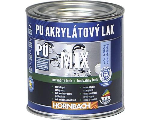 Mix PU Akrylátový lak 750ml hedvábný lesk A