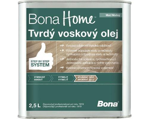Bona HOME Tvrdý voskový olej matný 2,5l