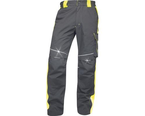 Pracovné nohavice ARDON pás NEON čierno-žlté, veľkosť 62