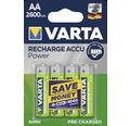 Nabíjacia batéria VARTA ACCU R2U AA 2600mAh 4 ks
