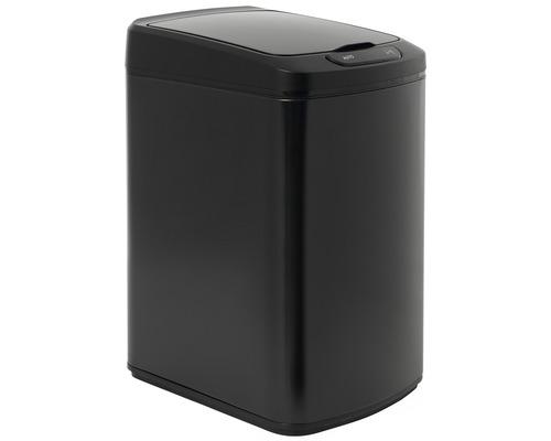 Bezdotykový odpadkový kôš iQ-Tech Quadrat čierny 15 l