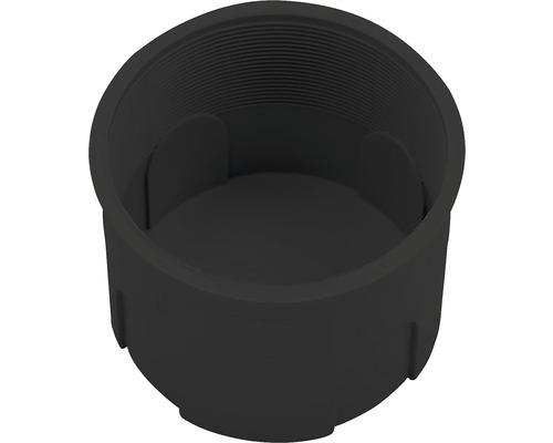 Inštalačná krabica SKOFF pod omietku čierna Ø 60 mm
