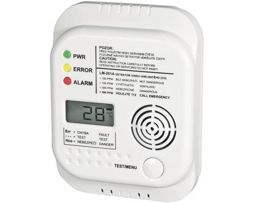 Autonómny požiarny hlásič Elektrobock CO - LM-201A