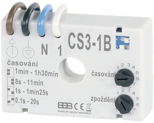Časový spínač pod vypínač Elektrobock CS3-1B