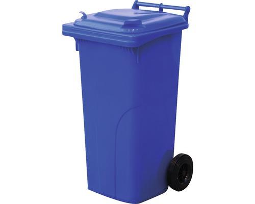 Popolnica 120 l plastová modrá