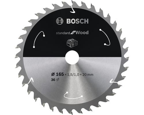 Pílový kotúč Bosch Standard for Wood H Ø 165x20 mm, Z 36