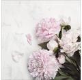 Sklenený obraz Frühlingsblumen 30x30 cm