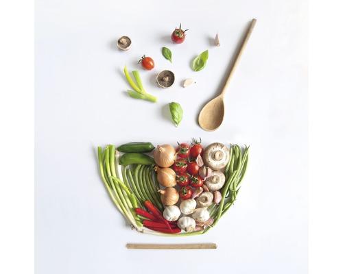 Sklenený obraz Salad Bowl 20x20 cm