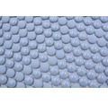 Sklenená mozaika zaoblená smalt mix modrá lesklá/matná