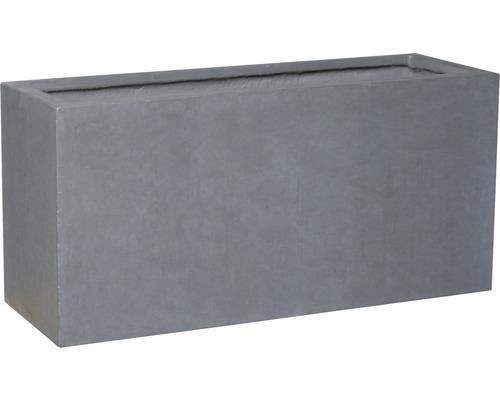 Hrantík umelý kameň Lafiora Emil 95 x 32 x 44 cm tmavosivý