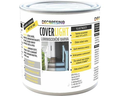 Špeciálna farba COVERLIGHT luminiscenčná transparentná 0,125 l