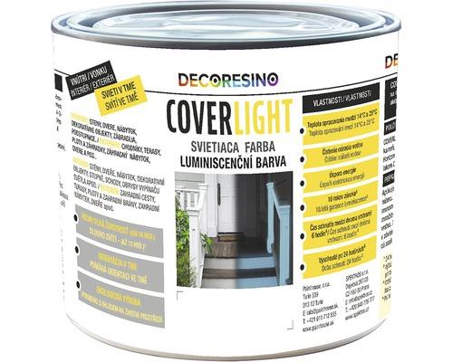 Špeciálna farba COVERLIGHT luminiscenčná transparentná 0,5 l