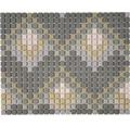 Sklenená mozaika Cuba MC6 31x24,60 cm sivá matná