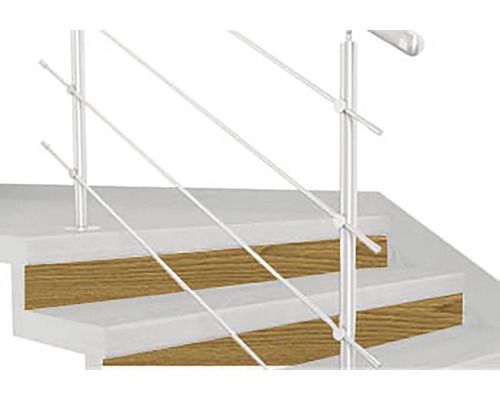 Podstupnica TOPSTEP FLEX 1200 x 200 x 11 mm dub natur balenie 2 ks