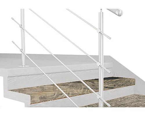 Schodový nášľap TOPSTEP FLEX 1200 x 340 x 11 mm dub sivý balenie 2 ks