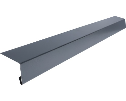 Odkvapový profil Precit Smart antracitová sivá 90 mm dĺžka 2 m