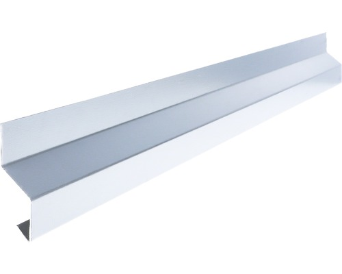 Odkvapový profil na stenu Precit Smart zinok 90 mm 2 m
