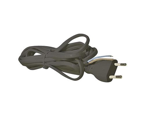 Napájací kábel Emos FLEXO 2x0,75-H03VVH2-F 5m s voľným koncom