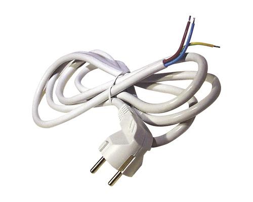 Napájací kábel Emos Flexo 3x1,0-H05VV-F 2m biely
