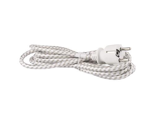 Napájací kábel Emos Flexo 3x0,75 OPR 2,4m
