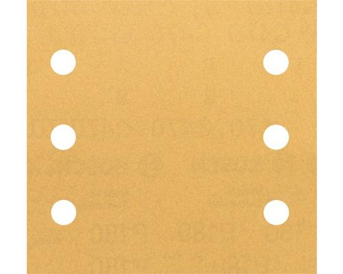 Brúsny papier pre multibrúsku, 115x107 mm, K180