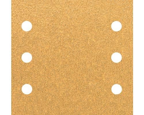 Brúsny papier pre multibrúsku, 115x107 mm, K40