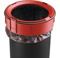 Odpadkový kôš Hailo Pure M s tlmeným zatváraním veka, čierny
