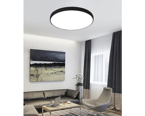LED stropné svietidlo Top Light 60W 6000lm 3000-6500K čierne