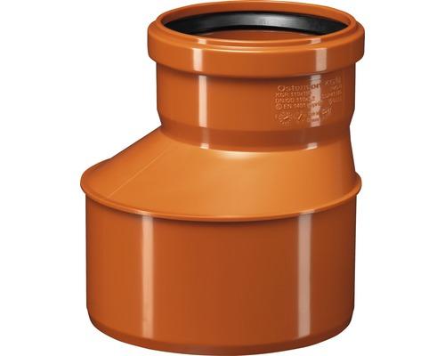 Redukcia pre kanalizačné rúry KG Ø 160/110 mm