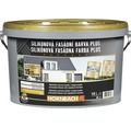 Silikónová fasádna farba Hornbach Plus 10 l
