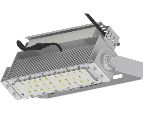 Pracovný reflektor Panlux MODULAR IP65 100W 5000K 150*75° strieborný