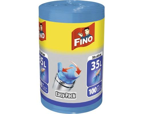 Vrecia na odpad FINO HD Easy pack 35L, 100 ks