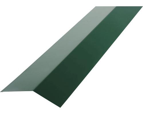 Odkvapnica PRECIT H12 žľabový záves pre trapézový plech 1000 mm 6005 machovo zelená