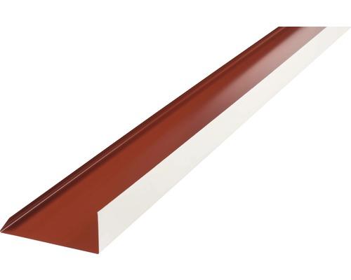 Lišta záveterná spodná dĺžka 1 m terracota