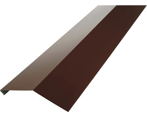 Odkvapnice PRECIT bez vodnej drážky pre trapézový plech 1000 mm 8017 čokoládová hnedá