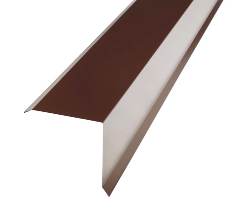 Záveterná lišta krycia 2000 mm, mahagón
