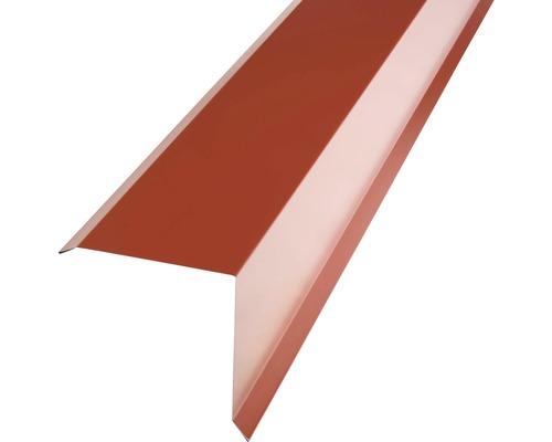 Záveterná lišta PRECIT pre plechovú krytinu 1000 mm, 3009 oxidovaná červená