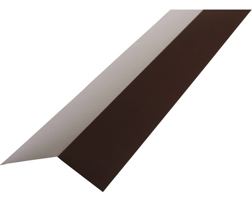 Odkvapnica PRECIT H12 žľabový záves pre trapézový plech 1000 mm 8017 čokoládová hnedá