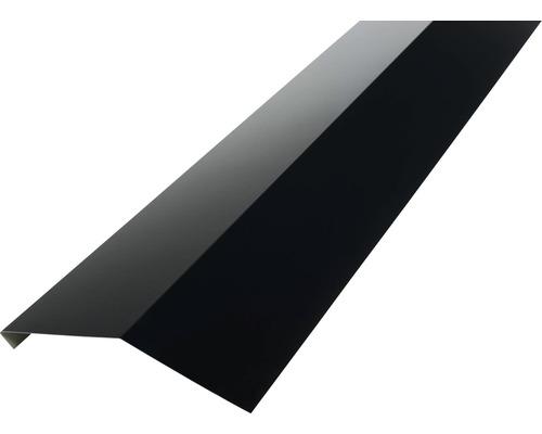 Odkvapnica PRECIT bez vodnej drážky pre trapézový plech 1000 mm 9005 čierna